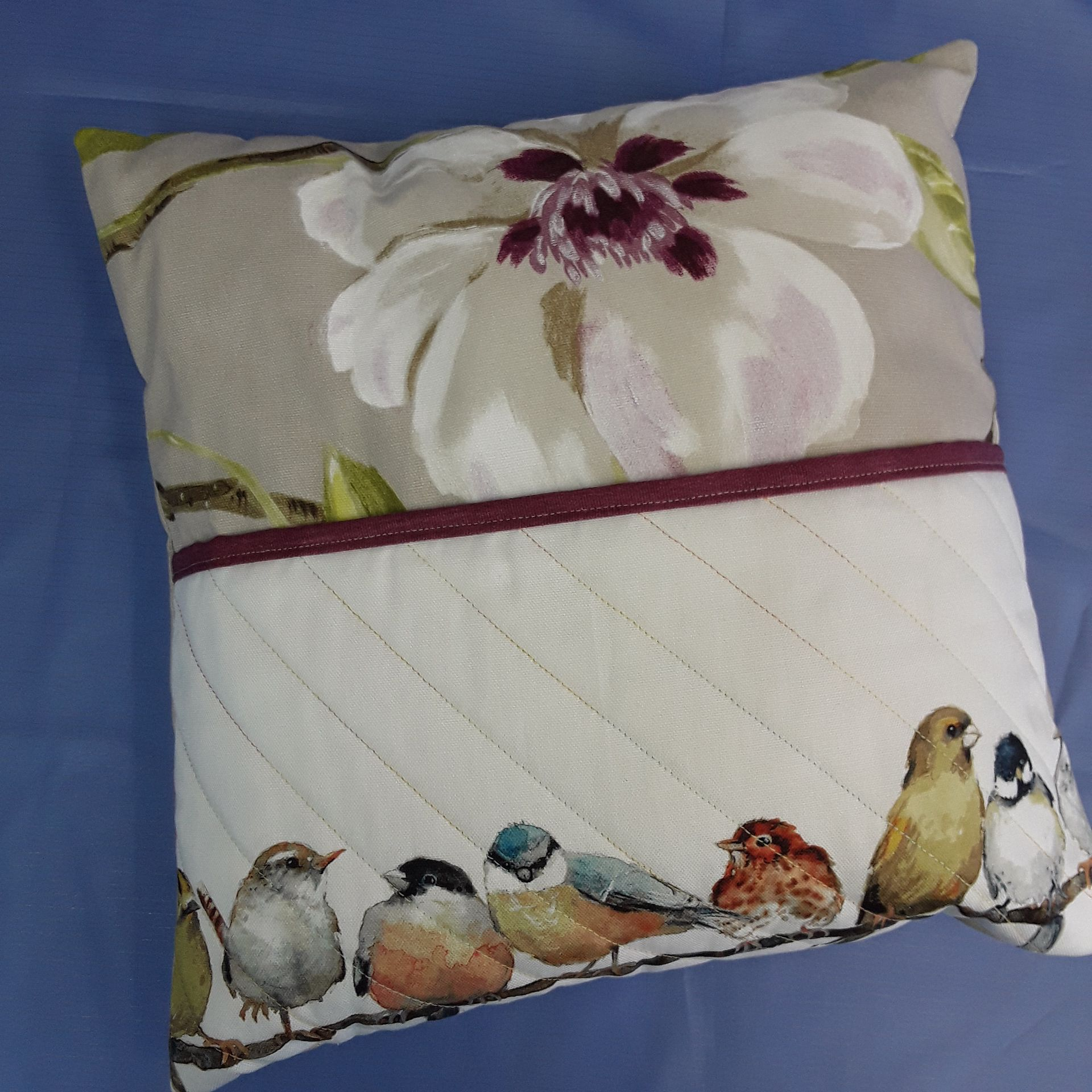 Book cushion cushions books quilted