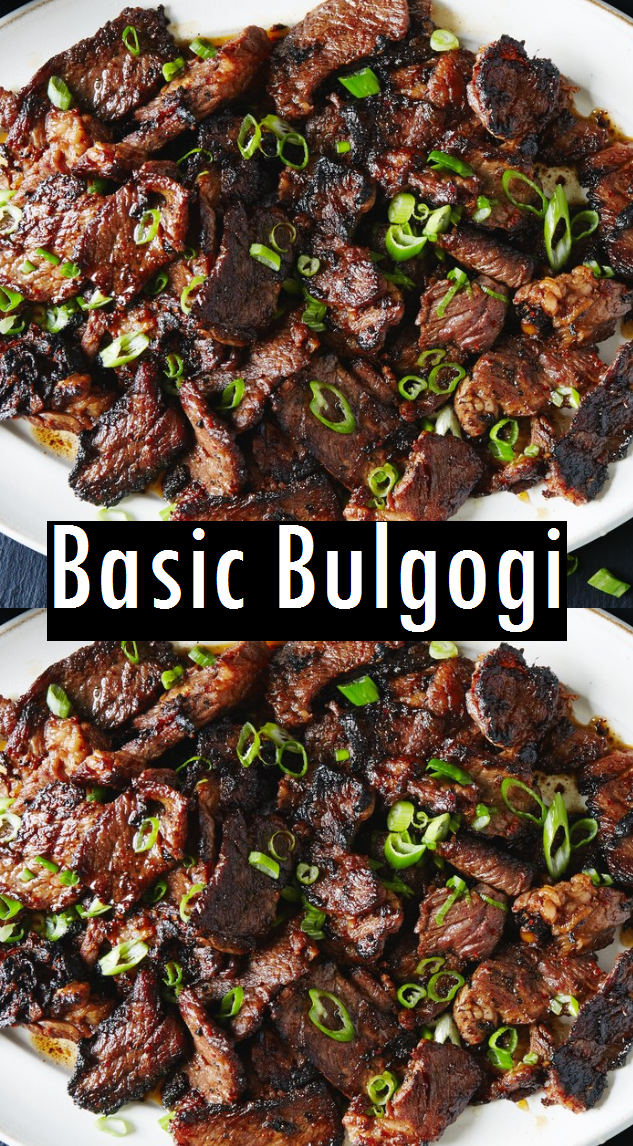 Basic Bulgogi Recipe  Dessert & Cake Recipes is part of Bulgogi recipe -