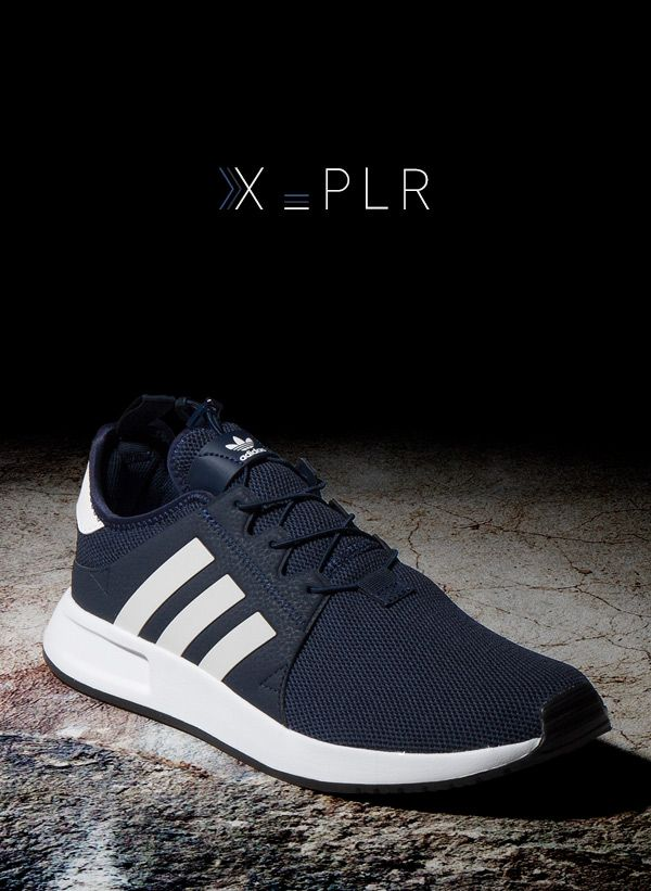 low priced 08baf 9e548 adidas Originals X PLR  Navy White Shoes Sneakers, Sneakers Adidas, Nike  Tanjun,