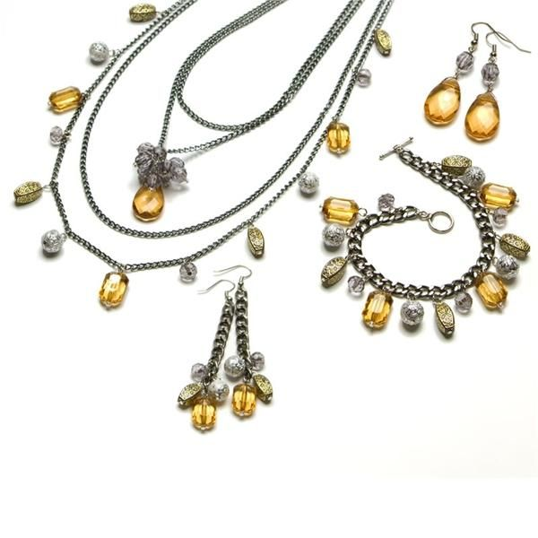 211pc Fashion Jewelry Kit- Amber