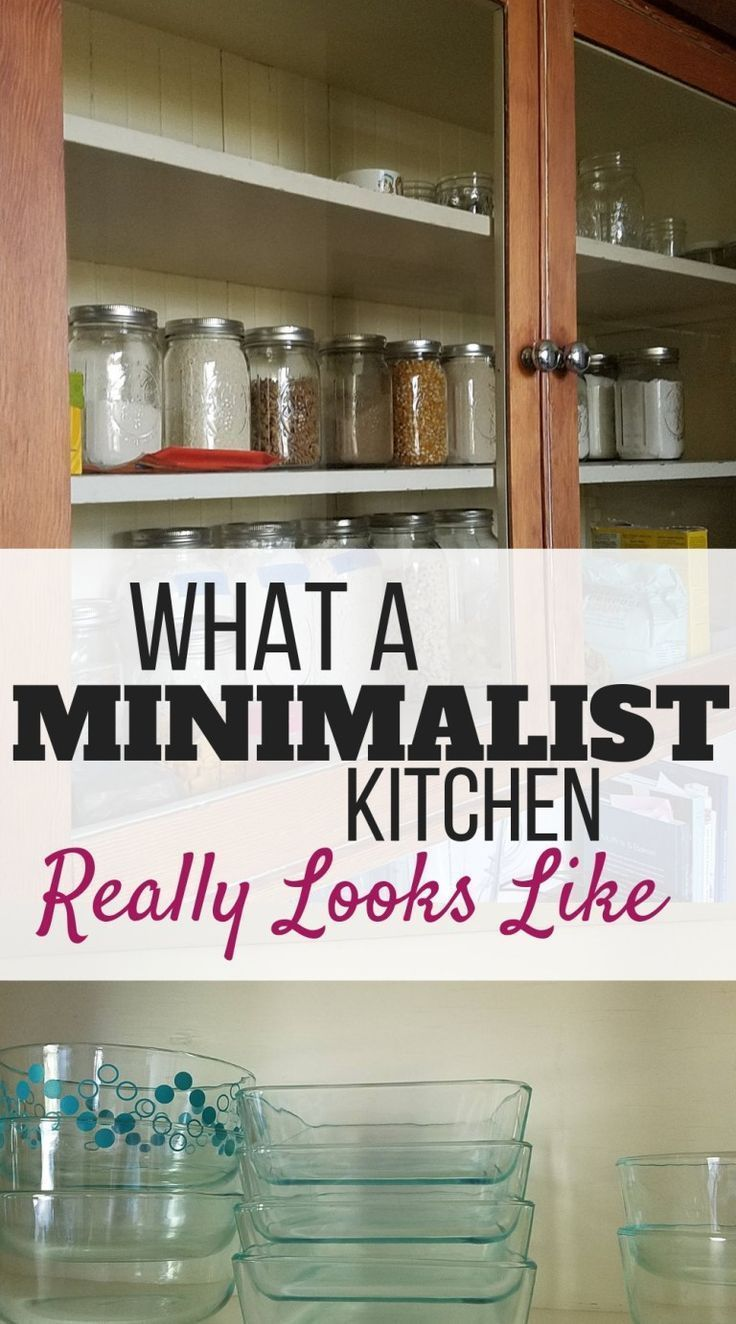 What a Minimalist Kitchen Really Looks Like #minimalistkitchen