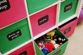 Drona Box Labels Playroom Toy Rooms Kids Playroom