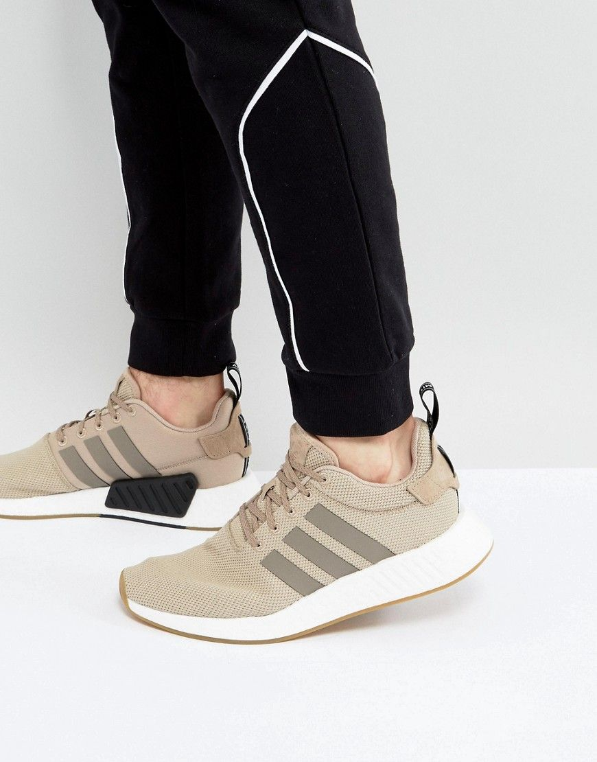 5fa505a07dc2 adidas Originals NMD R2 Sneakers In Beige BY9916 - Beige
