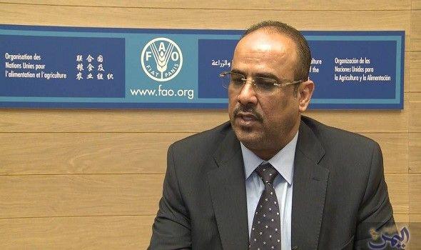 علي السنيدي وزير التجارة