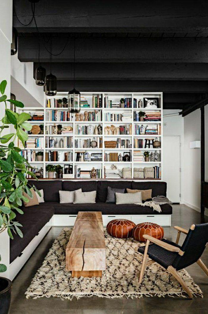 awesome Déco Salon - une petite table basse en bois pour le salon