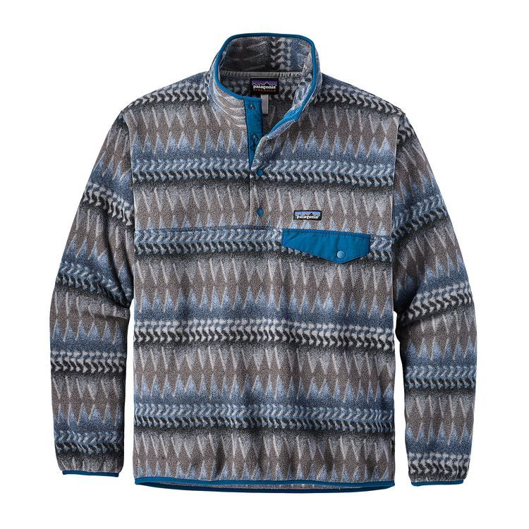 bcb50e90996 Patagonia Men s Lightweight Synchilla® Snap-T® Fleece Pullover ...