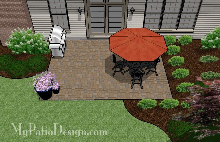 DIY Paver Patio Design | 300 Sq Ft | Download Installation Plan, How Tou0027s  And Material List @Mypatiodesign.com