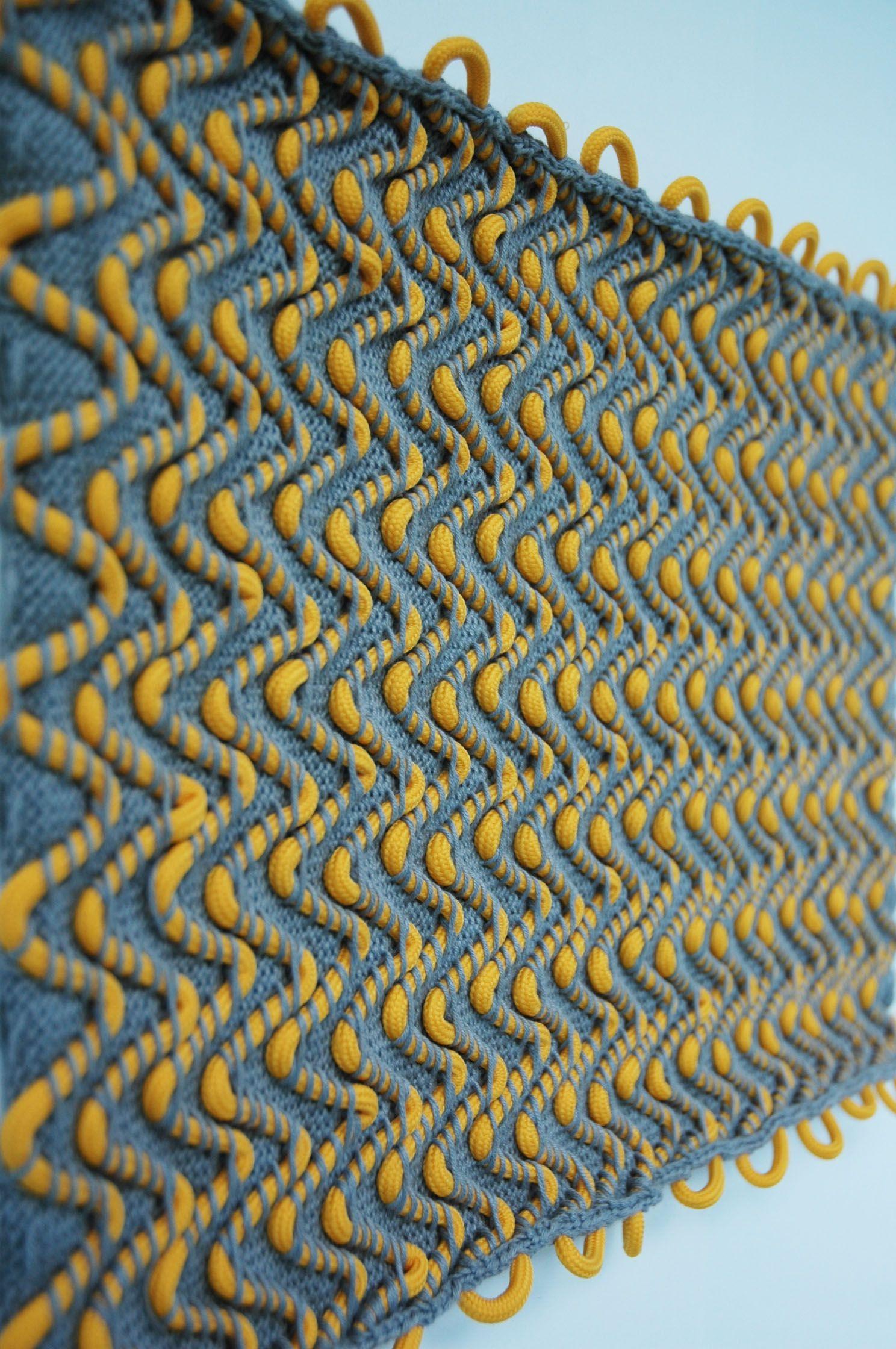 knot knitting #textiledesign