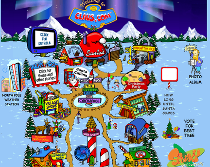 Christmas Resource Website Santa North Pole Christmas