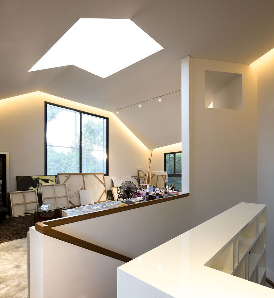Thehut Home Office: Gallery Of Hut House / Pencil Office - 14