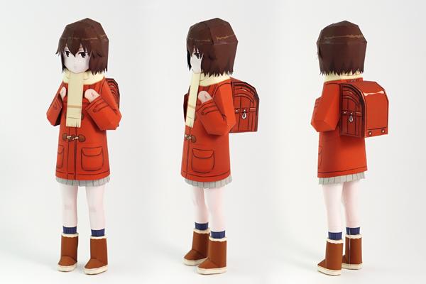 Hinazuki Kayochan anime paper craft Anime, Papercraft