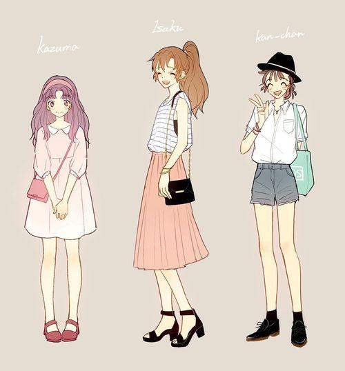 Pin on Anime Fashion