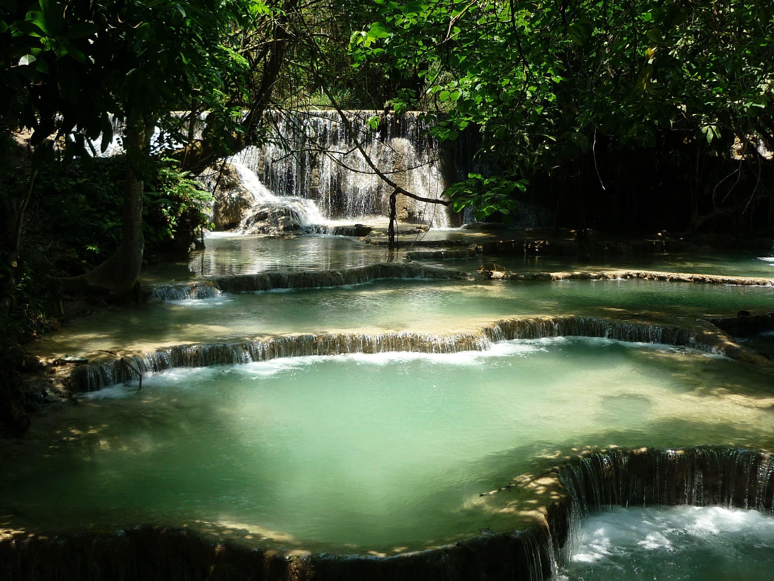 Luang Prabang Waterfalls, Laos