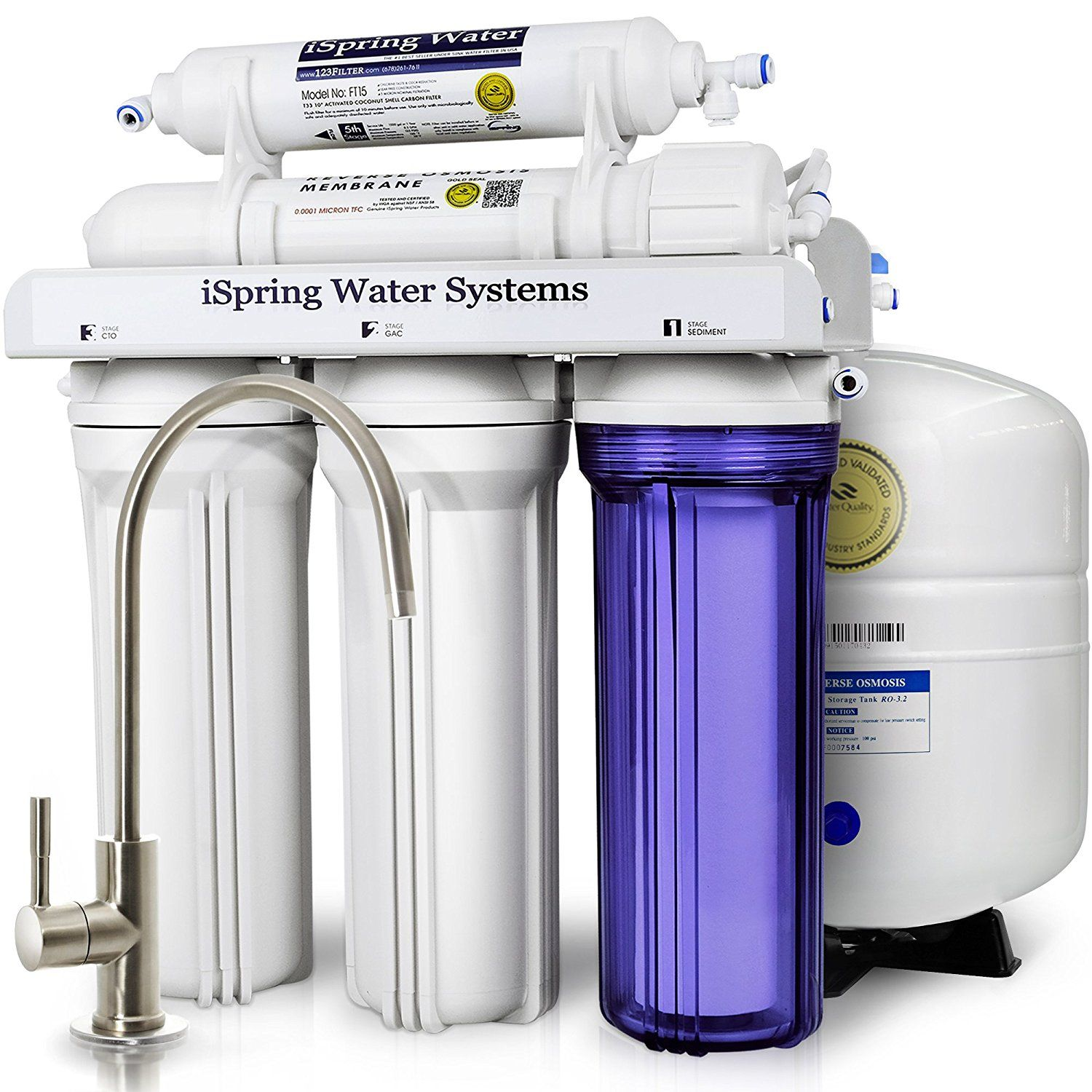 10 Excellent Reverse Osmosis System For Home Reviews