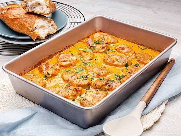 Schweinefilet in Currycreme Rezept KÖSTLICH   – Fleisch , Fisch