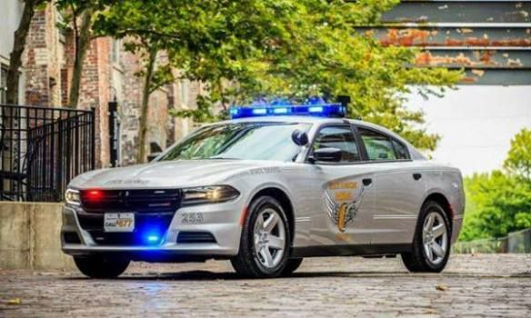 2015 Dodge Charger Ohio Highway Patrol State Trooper 253 Us Police Car Police Cars Dodge Charger