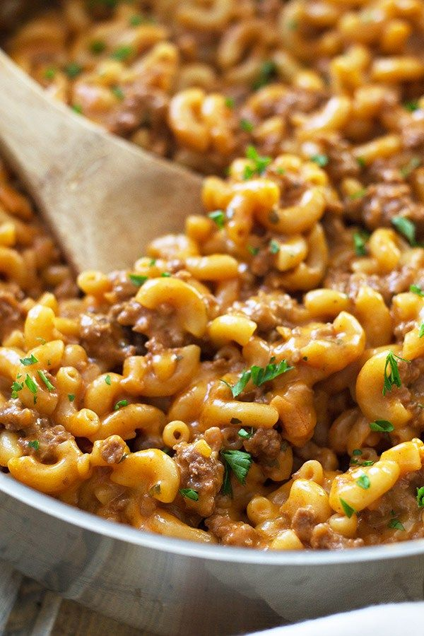 Homemade Hamburger Helper Countryside Cravings Homemade Hamburgers Recipes Homemade Hamburger Helper
