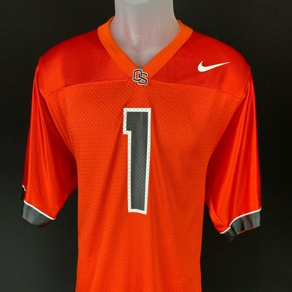 Nike OSU Jersey Nike - Men's Oregon State Beavers Jersey  Size Small Orange  In excellent used condition. Rep your school with pride.    0526-B0-W35 Nike Shirts Tees - Short Sleeve