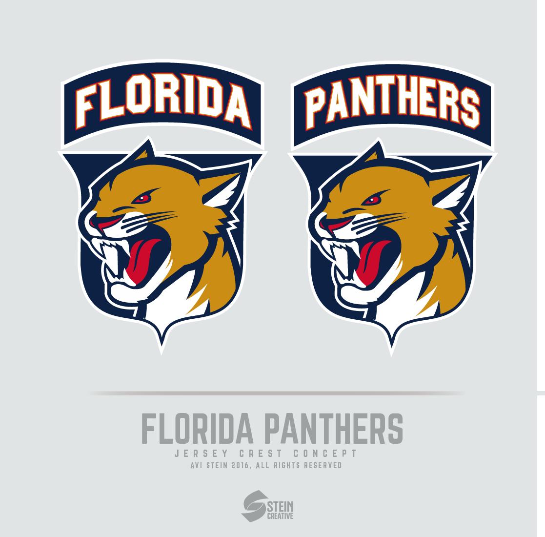 Florida Panthers Logo Concept And Uniform Prediction On Behance Logo Concept Florida Panthers Panther Logo