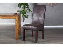 stoel valenitino bruin