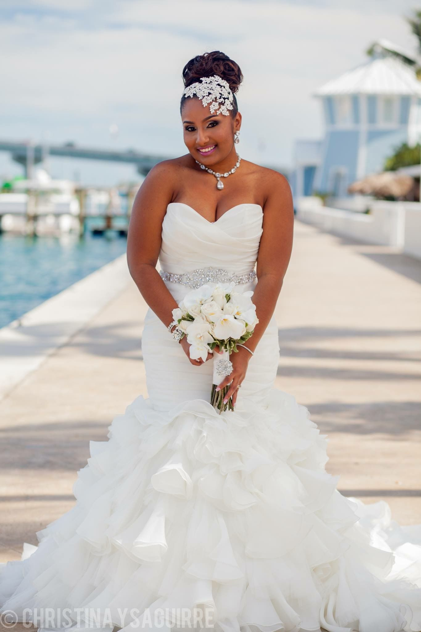 Plus size white wedding dresses  Follow us  SIGNATUREBRIDE on Twitter and on Facebook at SIGNATURE
