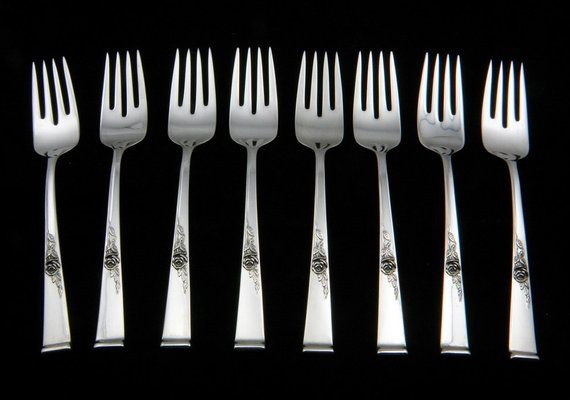 "Reed /& Barton Francis I Sterling Silver 6-1//8/"" Salad Fork Old Mark No Monogram"