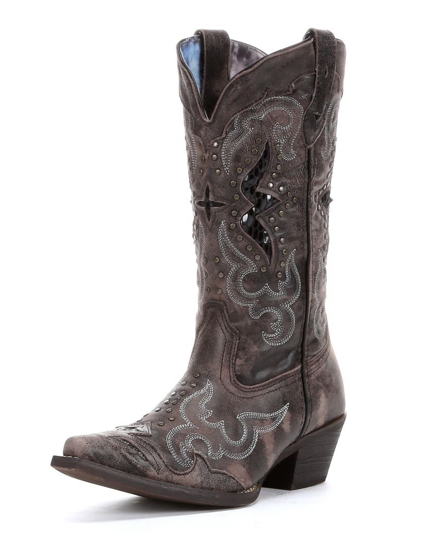LaROTo Damens's Toe Lucretia Studded Snake Inlay Cowgirl Stiefel Snip Toe Damens's ... c2b5a3