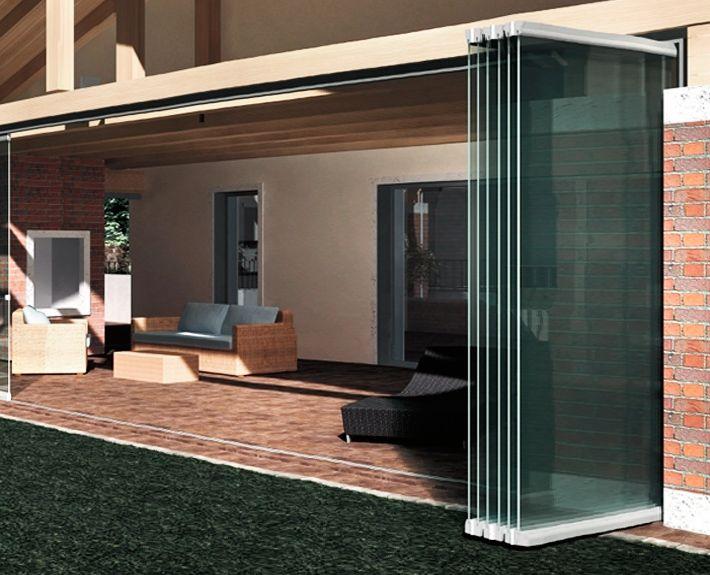 Cortinas para puertas de cortinas de cristal buscar con for Cortinas de madera para puertas