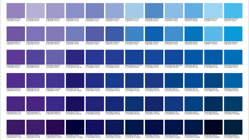 We Love Pantone Color Charts A Designer S Best Friend Pantone Color Chart Pantone Color Bridge Pantone Colour Palettes