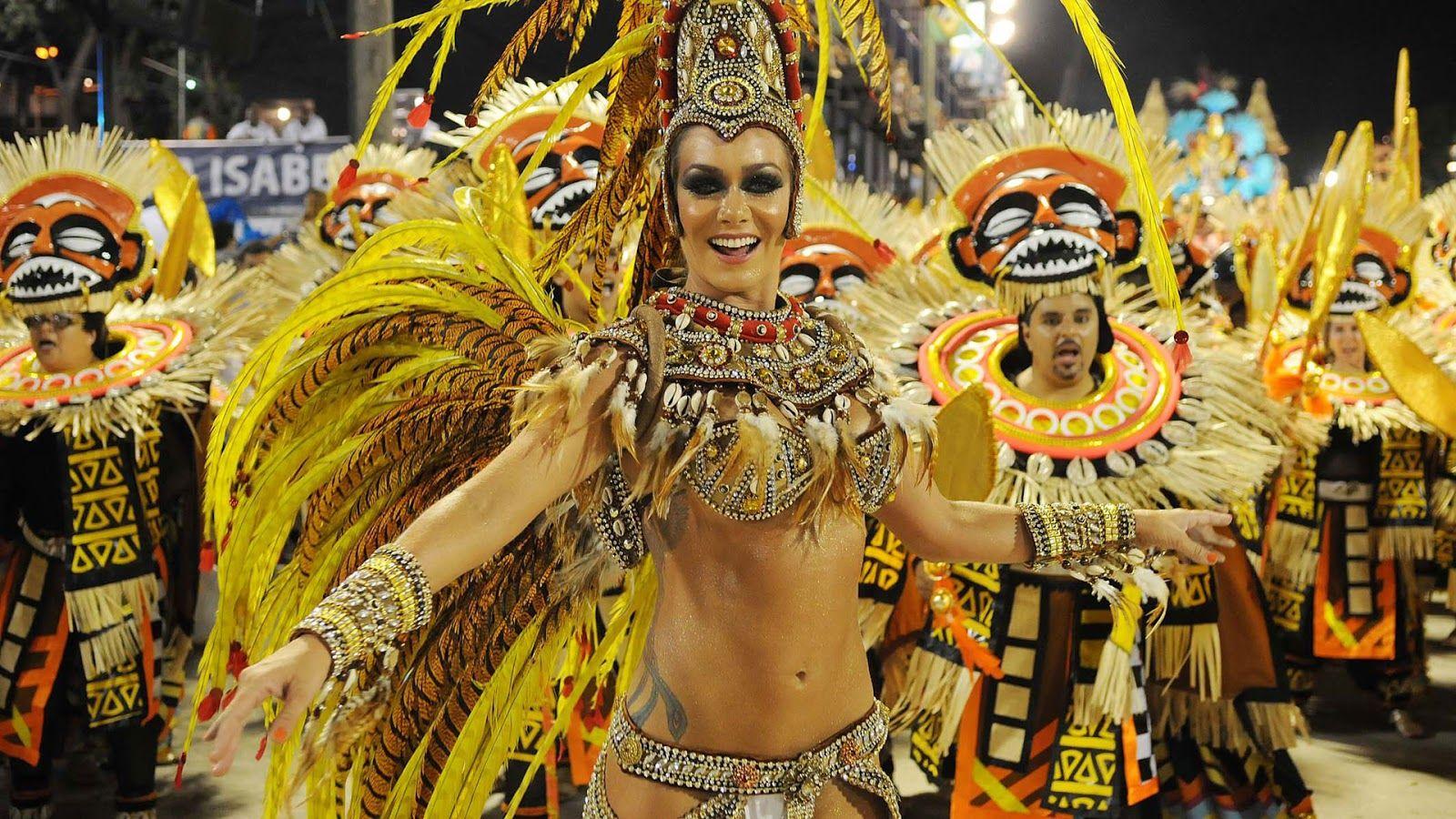carnaval de brasil garotas samba