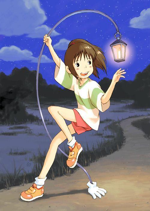 """Resultado de imagen de Ogino Chihiro """"Sen"""" deSen to Chihiro no Kamikakushi"""