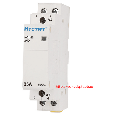HC1-25 25A Household Home 2 Poles AC Power Contactor 220