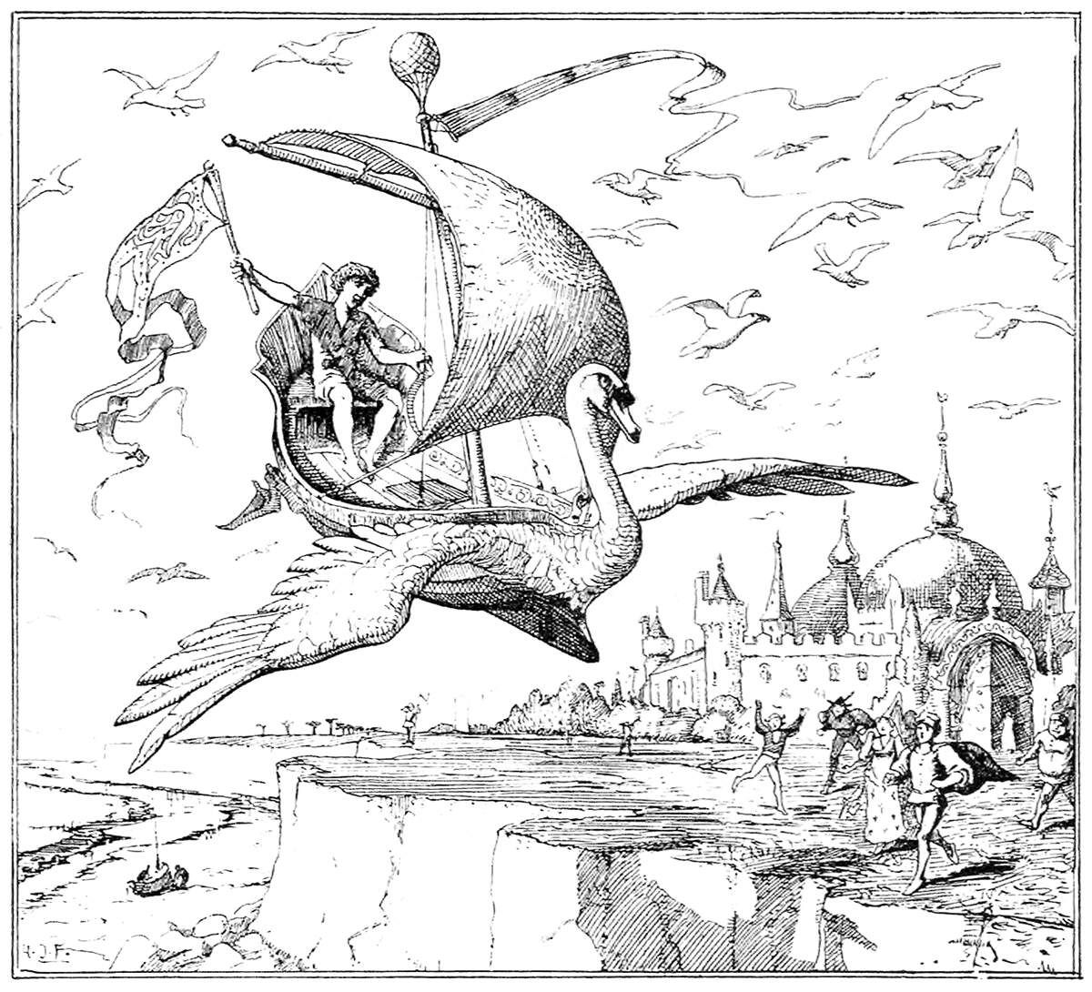 Public Domain Illustrations From Old Books Fairytale Illustration Illustration Engraving Illustration