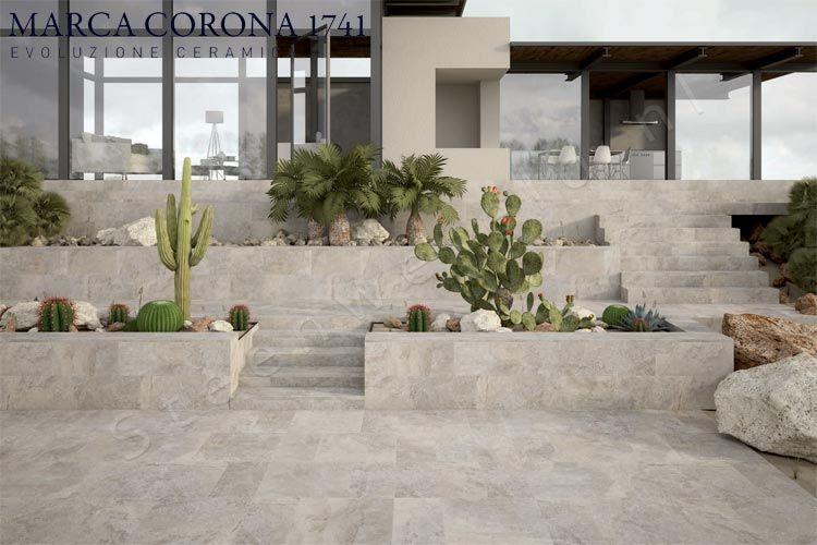 Marca Corona Tegels : Marca corona universe grey marca corona outdoor keramische tegels