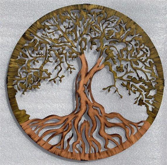 Tree Of Life Infinity Tree Wall Decor Wall Art 38 Inch Diameter