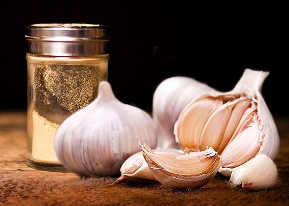 Homemade Dried Garlic