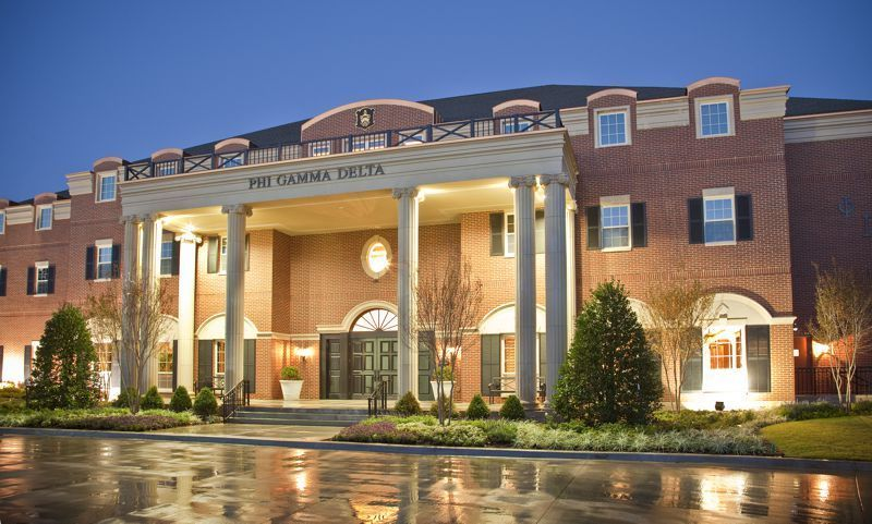 Look The 11 Best Frat Houses Sorority House Rooms University