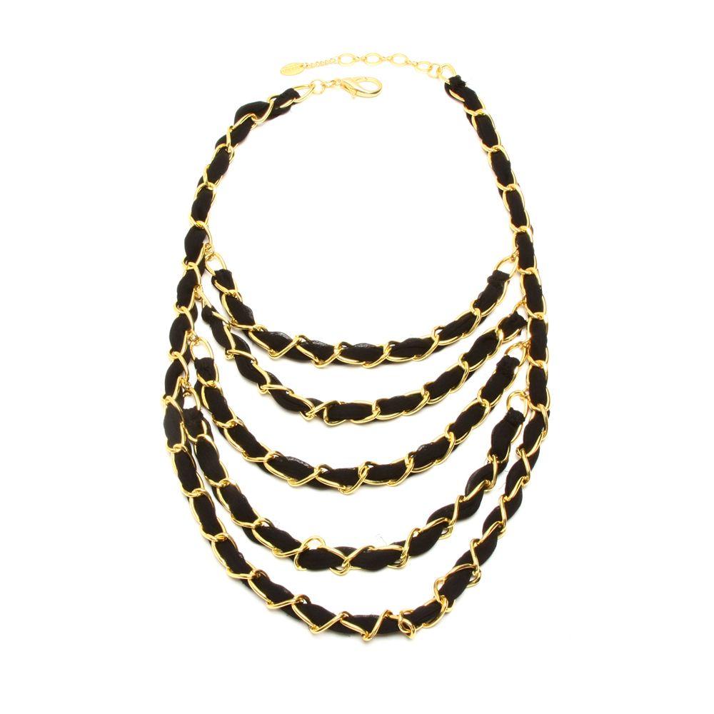 Elsa Five-Tier Necklace   Amrita Singh Jewelry