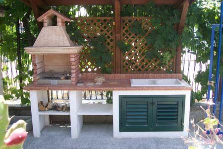 cucine all\'aperto - Cerca con Google | Idee x il mio casale ...