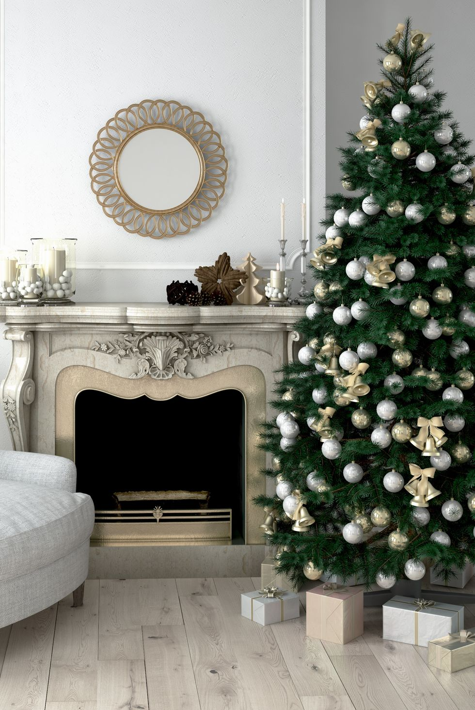 Found The Best Christmas Living Room Decor Ideas in 2020