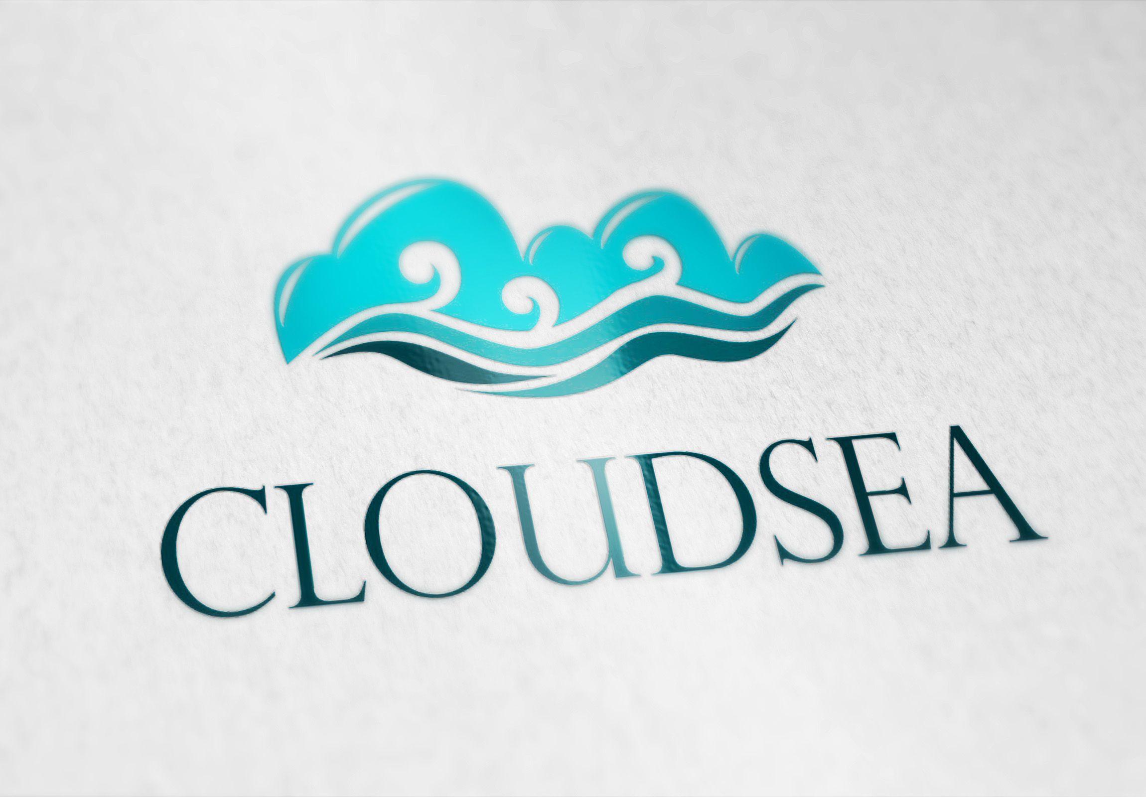 CLOUDSEA LOGO TataWarna Logo Desain logo dan Desain
