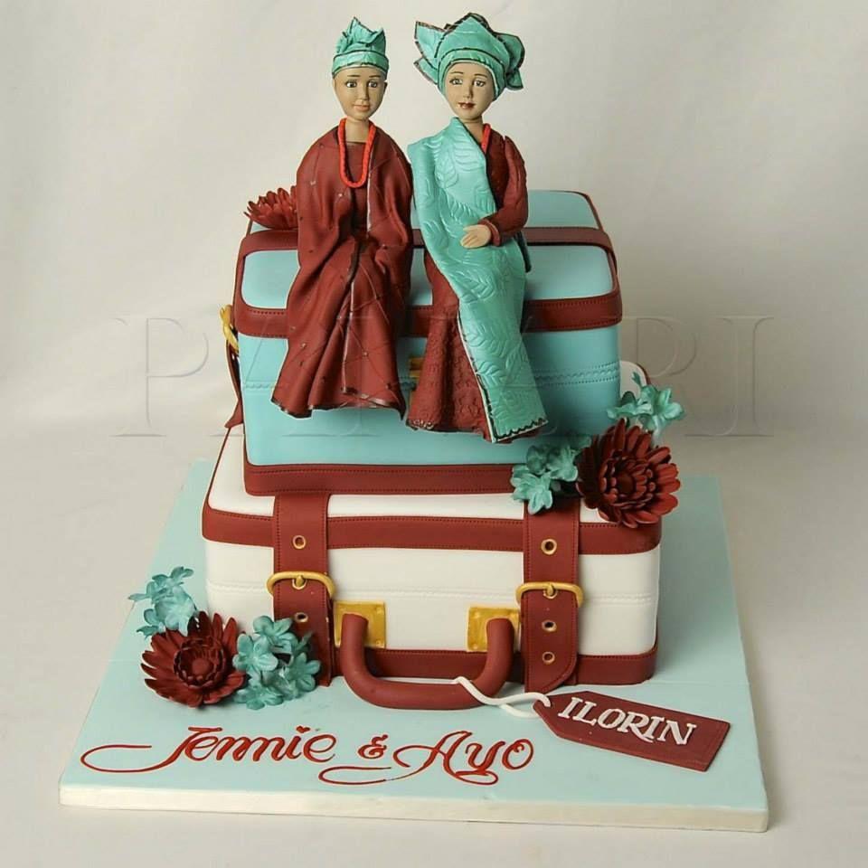 Yoruba traditional wedding decorations  Pin by Felicia Akhianyo on Wedding Cakes  Pinterest  Wedding cake