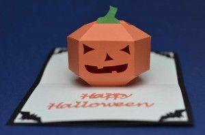 Halloween Pop Up Card 3d Pumpkin Creative Pop Up Cards Pop Up Card Templates Pop Up Cards Halloween Pop Up Cards