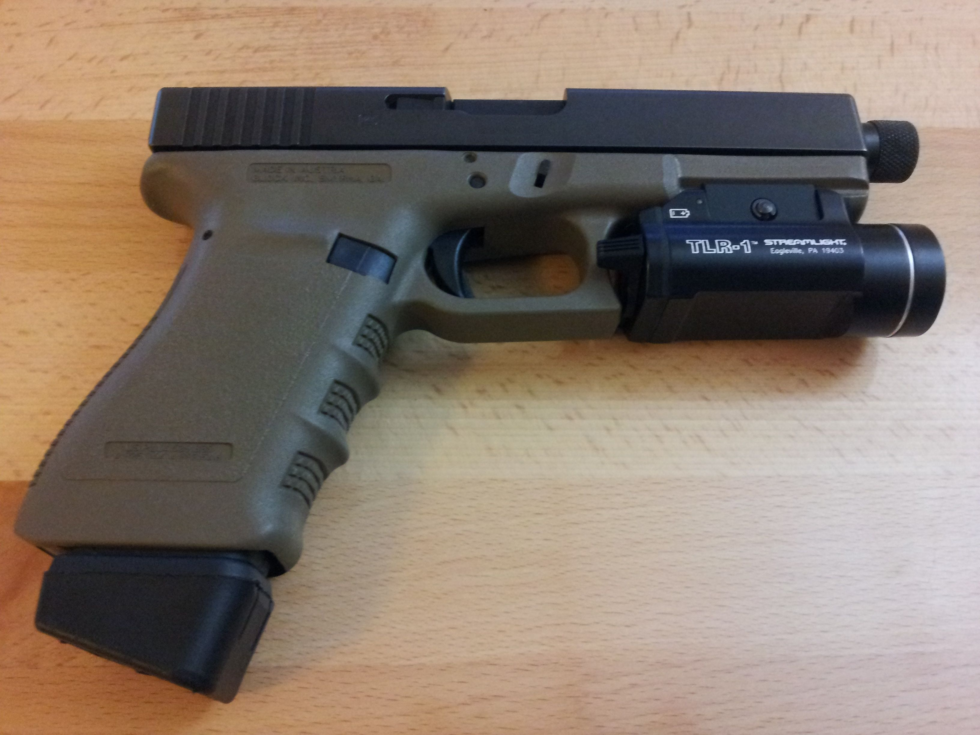 Glock 21 with TLR-1... stocking stuffer gift idea! Find our ...