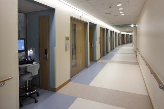 An Individualized Nurses Station From The Patient Corridor Based On Research And Input From