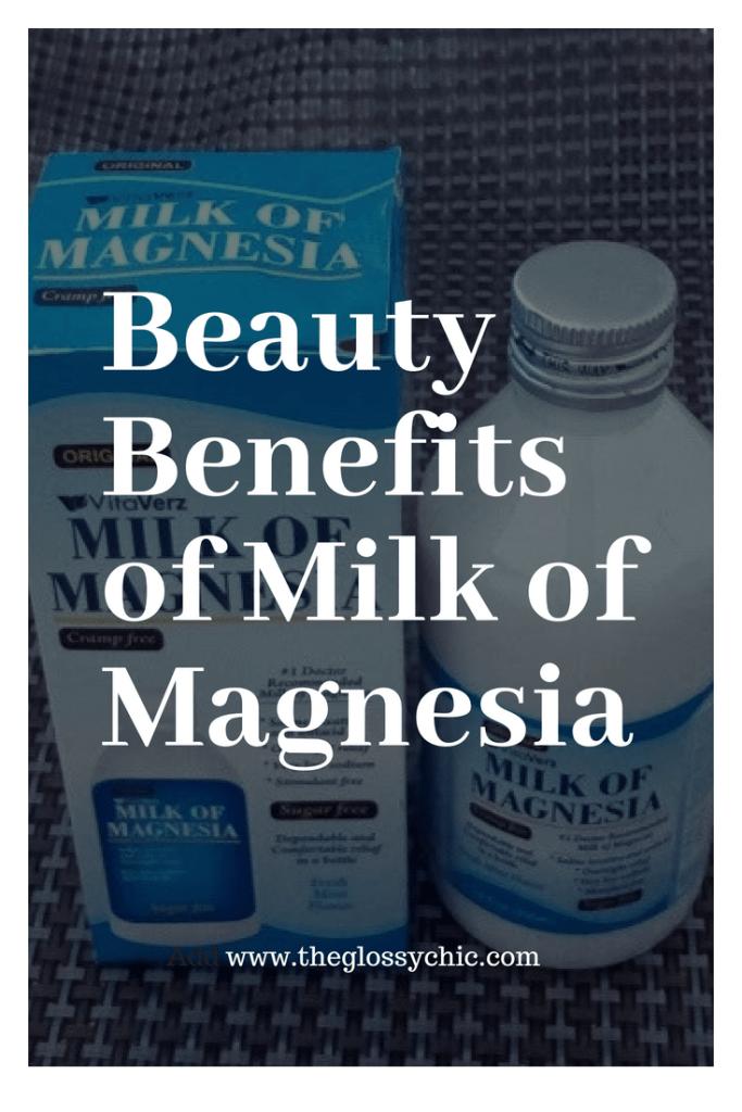 BEAUTY BENEFITS OF MILK OF MAGNESIA Diy beauty secrets