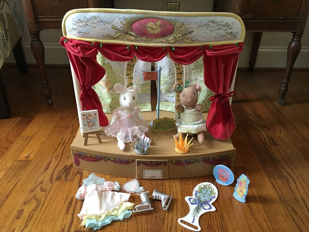 American Girl Angelina Ballerina Dance Stage Carrying Case Doll Lot Outfit  Dress #AmericanGirlANGELINABALLERINAdollAccessories