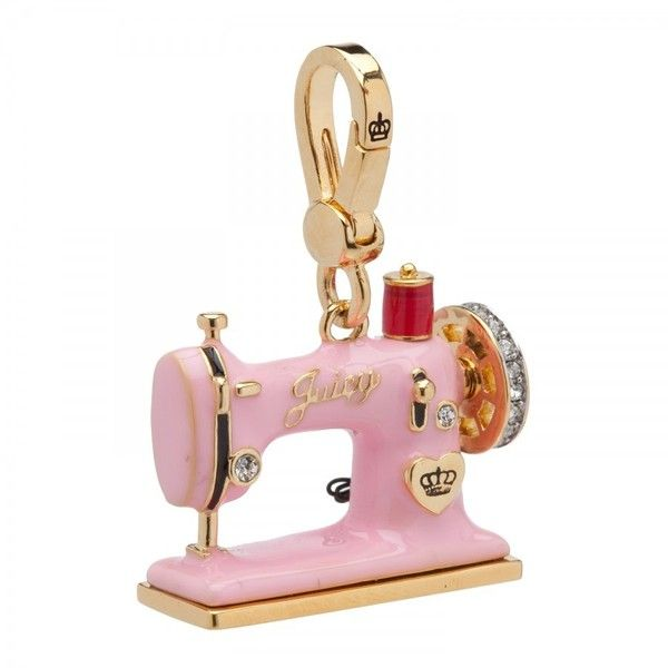 Juicy Couture Sewing Machine Charm 40 Liked On Polyvore Simple Juicy Couture Sewing Machine Charm