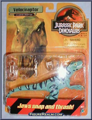 1999 Jurassic Park Dinosaures Velociraptor 1