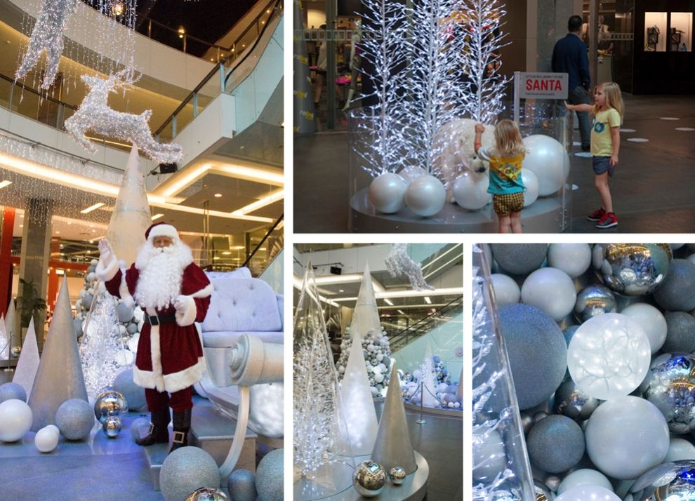 christmas displays, large christmas decorations | chas clarkson